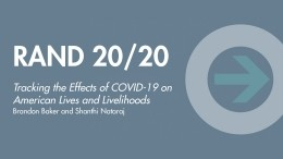 RAND 20/20: Tracking the Effects of COVID-19 on American Lives and Livelihoods