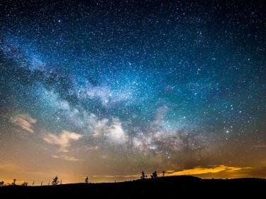 Time-lapse of Starry Night Sky