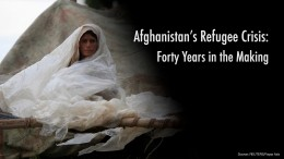 Afghanistan's Refugee Crisis: Forty Years in the Making