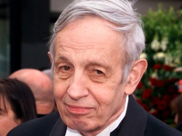 Nobel Prize winner John Forbes Nash at the 74th Annual Academy Awards in Los Angeles, March 24, 2002