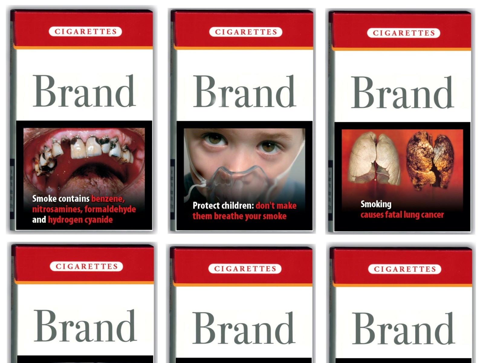 Graphic Warning Labels On Tobacco Packages Can Deter Some Smokers