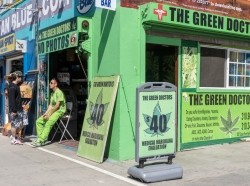 A medical marijuana dispensary in Venice Beach, California, July 16, 2014, photo by Juanmonino/Getty Images