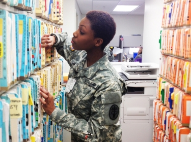 PFC Jackson Reviews Medical Records