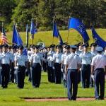 USAF Cadet Training Ceremony