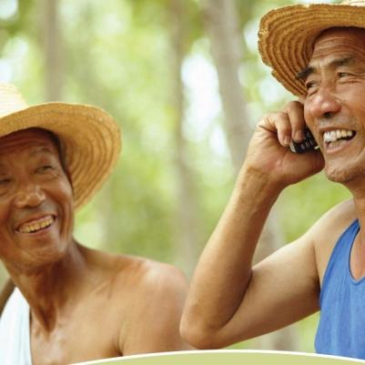 Farmers in rural Asia
