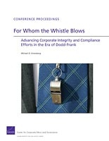 Cover: For Whom the Whistle Blows