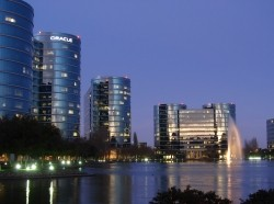 Oracle corporate headquarters in Redwood, CA
