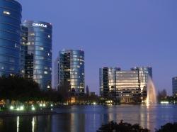 Oracle corporate headquarters in Redwood, CA