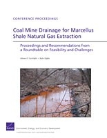 Cover: Coal Mine Drainage for Marcellus Shale Natural Gas Extraction