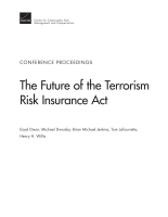 Cover: The Future of the Terrorism Risk Insurance Act