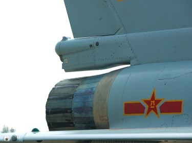 J-10 in Zhuhai Air Show, 2008. PLAAF.
