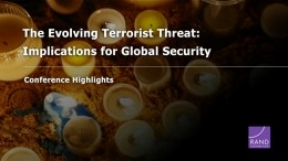 The Evolving Terrorist Threat: Conference Highlights