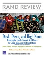 Cover: RAND Review