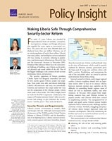 Cover: Policy Insight, Volume 1, Issue 3, June 2007