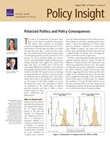 Cover: Policy Insight, Volume 1, Issue 4, August 2007
