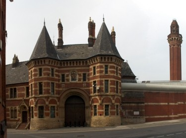 Entrance to HM Prison Manchester (Strangeways)