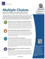 Cover: Multiple Choices