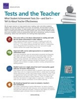 Cover: Tests and the Teacher