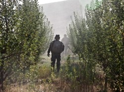 Coalition special forces soldier in Chak district, Wardak province, Afghanistan