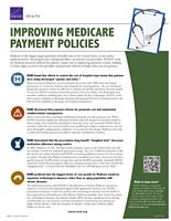 Cover: Improving Medicare Payment Policies