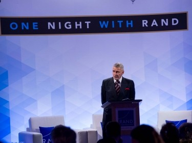Brian Michael Jenkins at the One Night with RAND event in Santa Monica, November 8, 2018