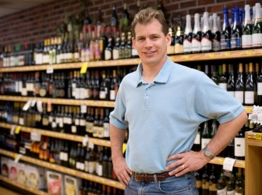 liquor store merchant