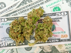 Marijuana and money,
