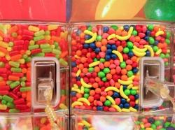 candy bins