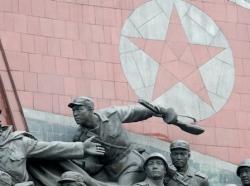 War memorial in Pyongyang, North Korea
