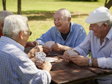 game, playing, cards, old, people, senior, laughing, 60s, 70s, active, aged, bench, buddies, caucasian, cheerful, closeup, elderly, enjoy, four, free time, friends, fun, glad, grandfather, group, happiness, happy, hispanic, hospice, joy, latino, lifestyle, male, man, mates, men, natural, park, pensioner, persons, relaxing, retired, retirement, seniors, sitting, smiling, talking, together, white
