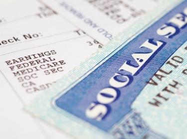 Social secruity card
