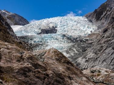 Fox Glacier in New Zealand, photo by zodebala/Getty Images