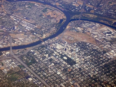 Aerial view of Sacramento, Calif., photo by Ron Reiring/Flickr CC BY 2.0