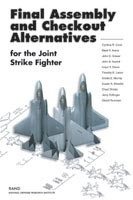 Cover: Final Assembly and Checkout Alternatives for the Joint Strike Fighter