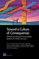 Cover: Toward a Culture of Consequences