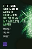 Cover: Redefining Information Warfare Boundaries for an Army in a Wireless World