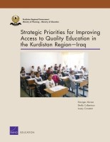 Cover: Strategic Priorities for Improving Access to Quality Education in the Kurdistan Region — Iraq