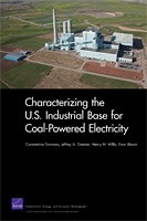 Cover: Characterizing the U.S. Industrial Base for Coal-Powered Electricity