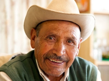 Elderly man in Mexico