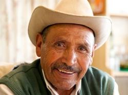 Elderly man in Mexico