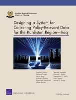 Cover: Designing a System for Collecting Policy-Relevant Data for the Kurdistan Region — Iraq