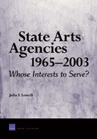 Cover: State Arts Agencies 1965-2003