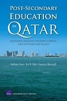 Cover: Post-Secondary Education in Qatar