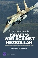 Cover: Air Operations in Israel's War Against Hezbollah