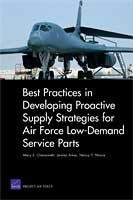 Cover: Best Practices in Developing Proactive Supply Strategies for Air Force Low-Demand Service Parts