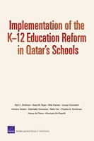 Cover: Implementation of the K-12 Education Reform in Qatar's Schools