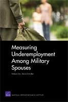 Cover: Measuring Underemployment Among Military Spouses