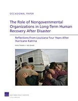 Cover: The Role of Nongovernmental Organizations in Long-Term Human Recovery After Disaster