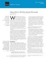 Cover: Heavy Armor in the Future Security Environment