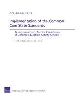 Cover: Implementation of the Common Core State Standards